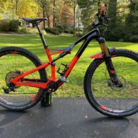 2018 Specialized S-WORKS Camber 29er Medium XX1 Eagle 12 speed Carbon MTB