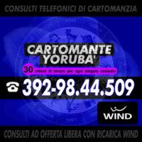 Studio di Cartomanzia IL CARTOMANTE YORUBA - consulto di cartomanzia al telefono con offerta libera
